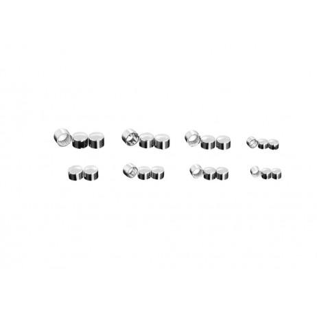 Čepičky na šroub M6 s imbusovou hlavou