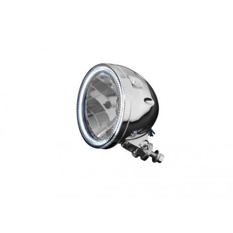 Hlavní motocyklové světlo Highway Hawk s obrysovým LED světlem
