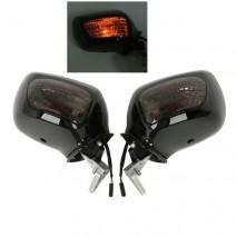 Černá zrcátka s blinkrem GL1800