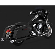 Vance & Hines Dresser Duals Black Výfuky Harley-Davidson