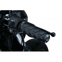 Černé ISO ručky Harley Davidson