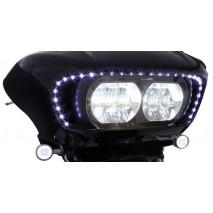 LED osvětlení na přední masku Harley-Davidson