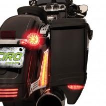 LED osvětlení mezi boční kufry a blatník Harley-Davidson