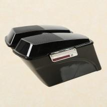Boční kufry s víkem pro reproduktory Harley Davidson