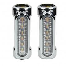 Přídavné LED světlo na padací rám Harley-Davidson