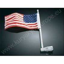 Držák vlajky na zadní nosič