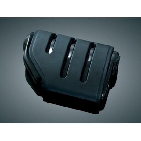 Lesklé černé stupačky ISO-Pegs bez adaptéru