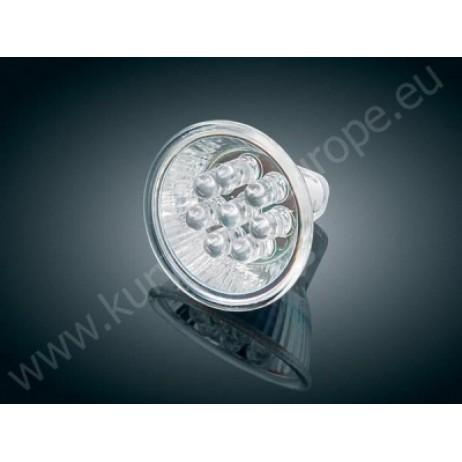 Velká super svítivá jantarová LED reflektorová žárovka - MR16 Type