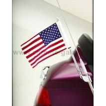 Vlajka USA s držákem na anténu pro Goldwing