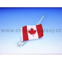 Kanadská vlajka s držákem Honda GL