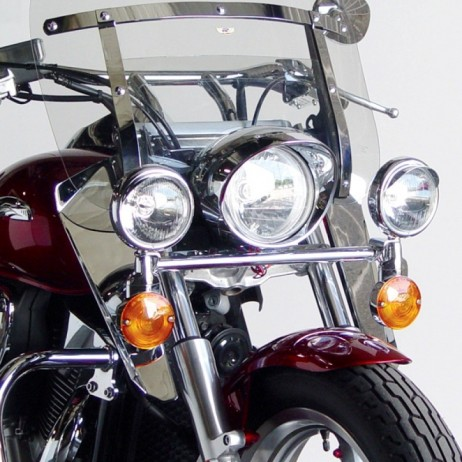 Chromované deflektory Honda