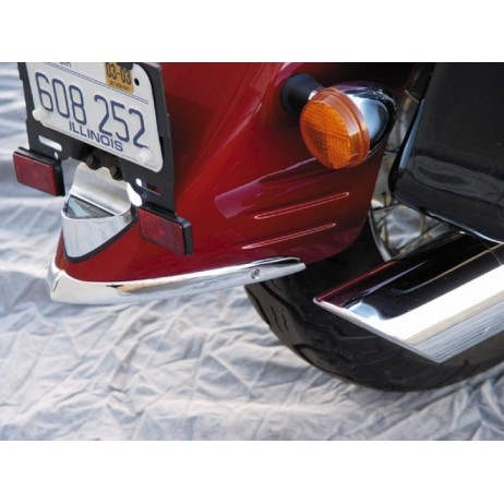 Zadní chromovaný lém blatníku Honda