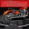 Peacemakers - Chromovaný výfuk Honda VTX 1800