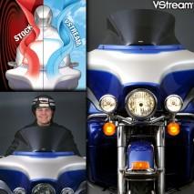 Kouřové plexisklo VStream Harley Davidson