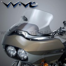 Vysoké čiré plexisklo Wave Harley Davidson