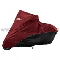 Střední plachta 125cc-750cc červeno/černá