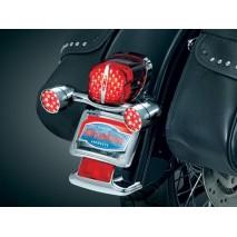 Přestavba zadních LED blinkrů Harley Davidson