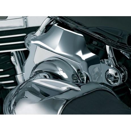 Chromovaná krytka karburátoru Harley Davidson
