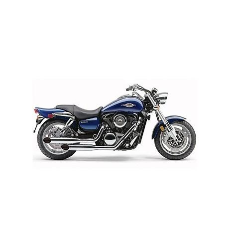 Chromovaný Cobra výfuk Classic Deluxe pro Kawasaki VN1500 / VN1600