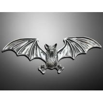 Nalepovací emblém BAT, chrom