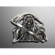 Nalepovací emblem GRIM REAPER SMALL, chrom