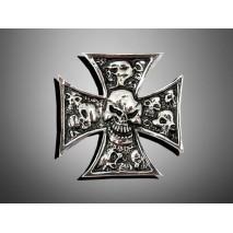 Nalepovací emblem GRAVE-X SMALL, chrom