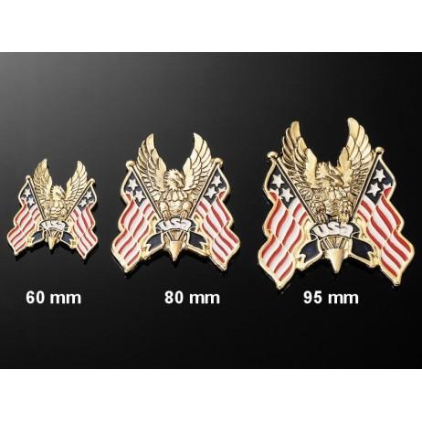 Nalepovací emblem USA HAWK, zlatý