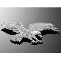Nalepovací emblem HAWK, chrom
