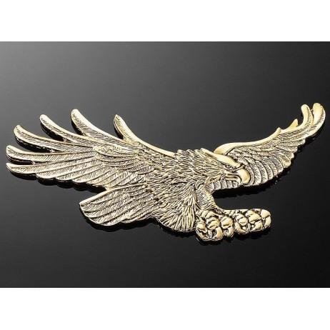 Nalepovací emblem HAWK, zlatý - malý