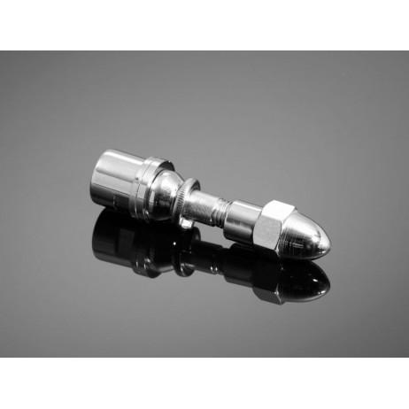 Závitový adaptér zrcátek M10 pro moto HD, chrom