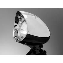 """Hlavní světlo ABS 180mm, chrom, homologované """"E"""""""