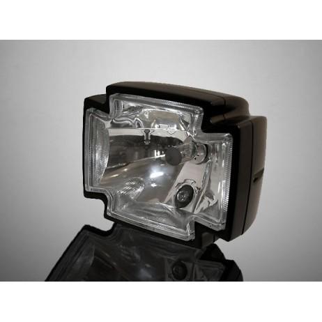 """Hlavní světlo GOTHIC 120x150mm, černé, homologované """"E"""""""