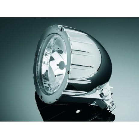 """Hlavní světlo TECH GLIDE 140mm, chrom, homologované """"E"""""""