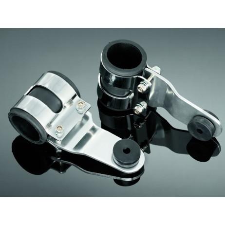 Držáky hlavního světla univerzální 29/45mm, chrom (2ks)
