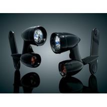 Světelná rampa černá Harley Davidson
