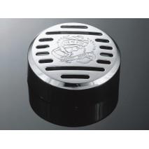 Plastový kryt klaksonu LIVE TO RIDE, 88mm/95mm