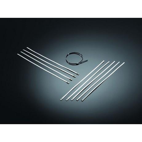 Kovové upevňovací pásky, nerez (1ks)