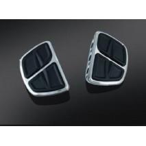 Chromované stupačky řidiče / spolujezdce bez adaptéru