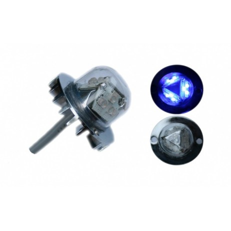 LED stroboskop H2100 - modrý