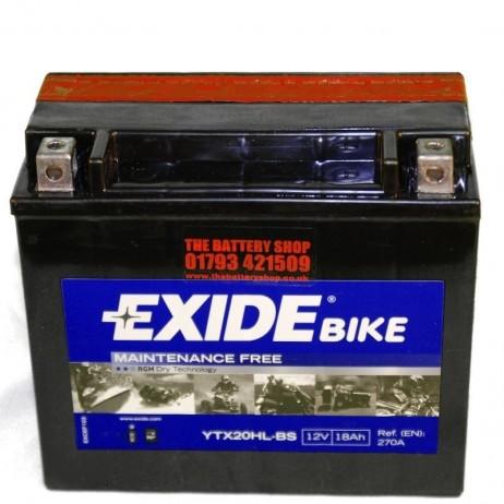 Akumulátor EXIDE YTX20HL-BS
