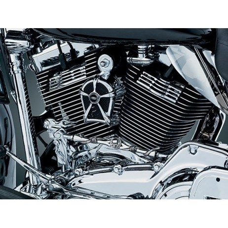 Chromovaný ozdobný kryt houkačky Harley Davidson