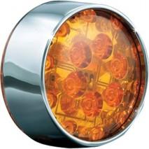 LED přední blinkr - bullet style Harley Davidson