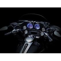 Chromované lemy reproduktorů s LED osvětlením Harley Davidson
