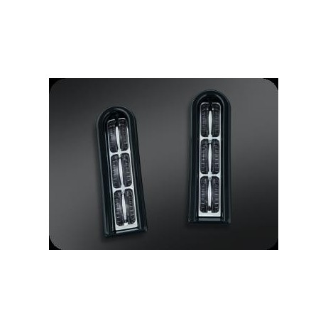 Černé zadní LED osvětlení s čirým sklíčkem Harley Davidson