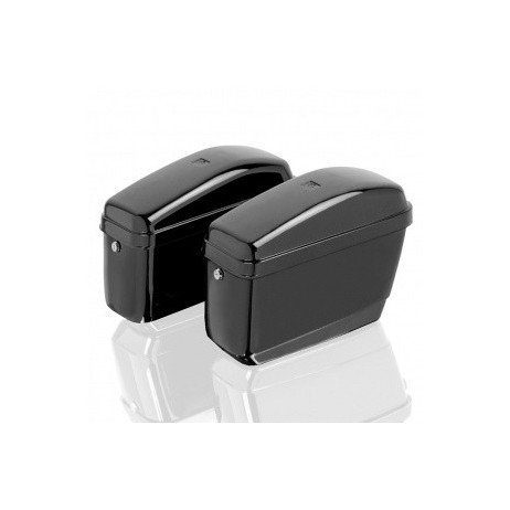 Uzamykatelné pevné boční kufry