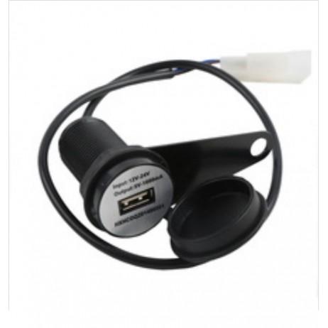 Vodotěsný černý USB adaptér