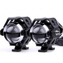Černá univerzální LED světla