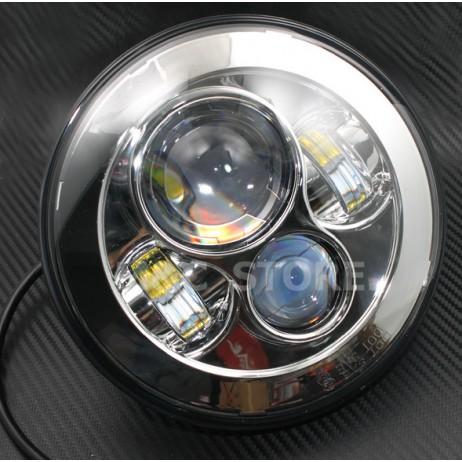 LED bílé hlavní světlo pro Harley Davidson
