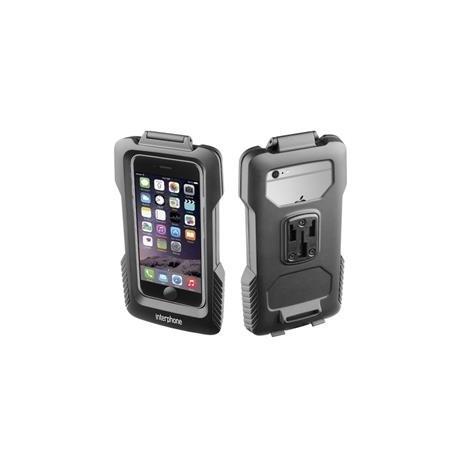 Voděodolné pouzdro Interphone pro Apple iPhone 6, úchyt na řídítka, černé