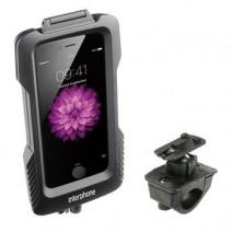 Voděodolné pouzdro Interphone pro Apple iPhone 6 Plus, úchyt na řídítka, černé